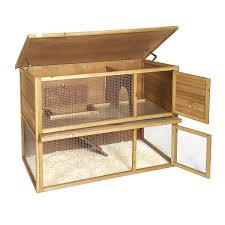 4ft Rabbit Hutch With Run Rabbit Hutch Run Shop For Cheap Pets And Save Online