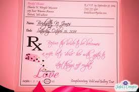 talia u0027s creative printing prescription for love bridal shower