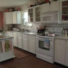 white kitchen white appliances 20 kitchens with stylish two tone cabinets