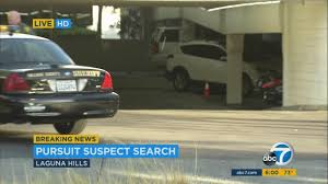 Home Design Center Laguna Hills Police Chase Of Stolen Suv Ends In Laguna Hills Abc7 Com