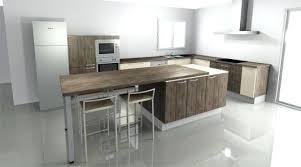 modele cuisine avec ilot central table ilot central cuisine table cuisine ilot central table modele