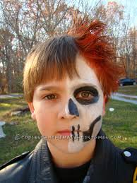 easy super cool ghost rider costume for kids ghost rider
