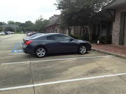 altima coupe 2011 plastidipped matte black nissan forums