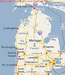 peninsula michigan map best to visit michigan