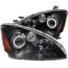 nissan altima 2005 headlight assembly amazon com 2002 2004 nissan altima halo headlights projector 8