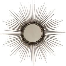 mid century mirror 1stdibs mid century modern starburst mirror from france c 1940