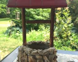 Wishing Well Garden Decor Wishing Well Planter Etsy