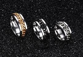 men rings wholesale images Men 39 s punk rock ring in 3 colors usa size 6 15 jpg