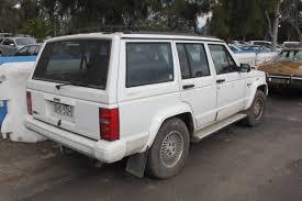 white jeep cherokee black rims file 1995 jeep cherokee xj limited 5 door wagon 20894764545