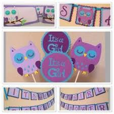purple owl baby shower decorations purple owl centerpieces baby shower heart birthday centerpieces