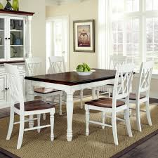 Gloss White Dining Table And Chairs White Dining Table Chairs Home Styles Monarch 7 Dining Table