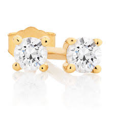 diamond stud earrings melbourne diamond stud earrings online buy solitaire earrings