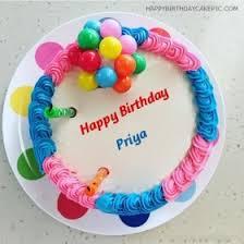 happy birthday priya wishes cake images quotes u0026 sms wishes