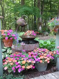water features for small gardens tea pots fountain and teas