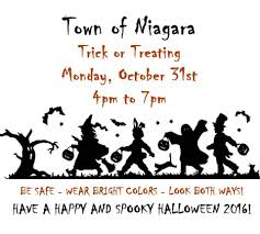 Spooky Halloween Silhouettes Of Niagara Trick Or Treating