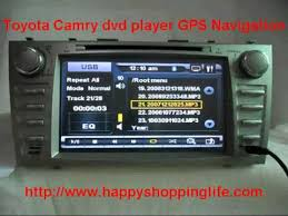 gps toyota camry toyota camry dvd player with gps navigation system