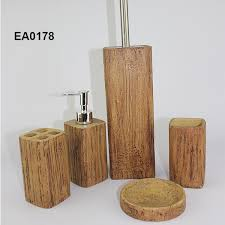 Wooden Bathroom Accessories Set by Material Bathroom Set Hotel Bathroom Set Bathroom Accessories