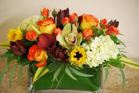 interior thanksgiving day flower arrangements fresh flowers