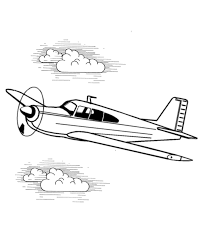 pictures airplane coloring pages sky free coloring