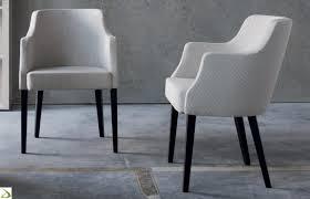 sedie imbottite per sala da pranzo gallery of poltroncine soggiorno il meglio design degli