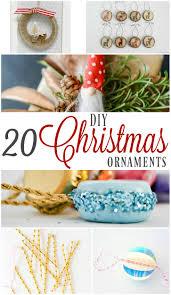 diy ornaments i am a homemaker
