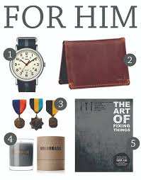 gift guide for him magazine