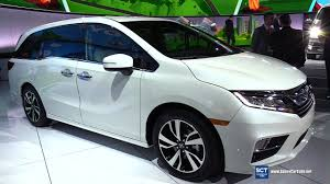 2018 honda odyssey elite exterior and interior walkaround