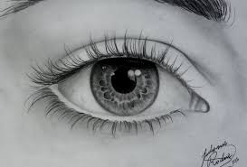 human eye sketches