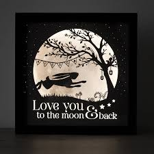 you to the moon and back nursery l by noah and the