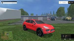 red porsche truck porsche cayenne 2013 v1 0 gamesmods net fs17 cnc fs15 ets 2