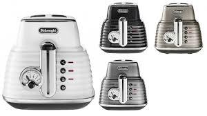 2 Slice White Toaster Delonghi Scultura 2 Slice Toaster Toasters Small Kitchen