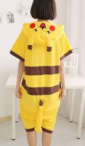 Pikachu Costume Pikachu Summer Onesie Buy Online Nz Onesies