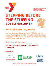 is the ymca open on thanksgiving ymca gobble gallop 5k