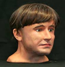 viking anglo saxon hairstyles forensic experts recreate middle aged anglo scandinavian man found