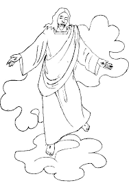 coloring page of jesus ascension jesus ascension coloring page coloring pages for kids to print