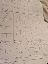 sketch each angle in standard position and state t chegg com