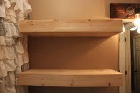 Floating Wooden Shelves by Diy Bathroom Floating Shelves