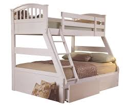 Sweet Dreams Epsom White Finish Triple Bunk Bed Bedsdirectuknet - Dreams bunk beds