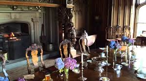 duns castle dining room youtube