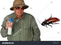 Black Flag Bug Spray Man Pith Helmet Sprays Bug Spray Stock Photo 54090133 Shutterstock