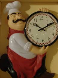 italian home decor accessories fat italian chef kitchen wall clock this is the perfect clock for