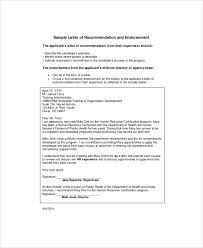 sample promotion recommendation letter examples in word pdf