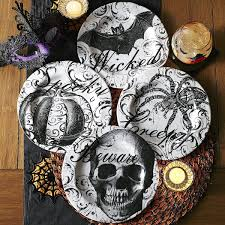 halloween plates tabulous design dishing on halloween