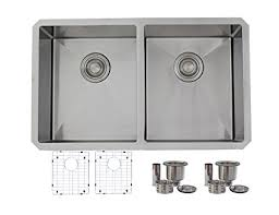 30 inch undermount double kitchen sink 30 inch undermount kitchen sink double bowl 50 50 18 gauge