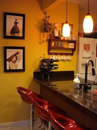 attractive cafe themed kitchen decor including furniture and