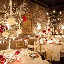 Venue Decoration For Christmas Party by