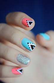 best 25 triangle nails ideas on pinterest triangle nail art