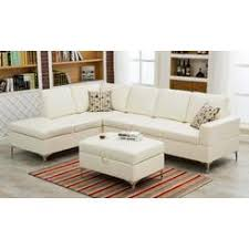 Modern Sectional Sofa With Chaise Tosh Furniture Modern White Leather Sectional Sofa