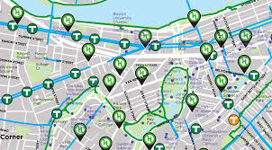 Mlb Map Ride Your Bike To Fenway Park Boston Red Sox