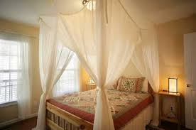Sheer Curtains Over Bed Curtain Backdrop Behind Bed Decorate The House With Beautiful